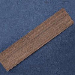 Prueba de ácido de Foshan Diseño Madera Cerámica Azulejos de escaleras de madera