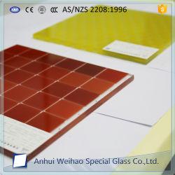 Corada 10mm Serigrafia do vidro para chuveiro