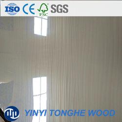 Le blanc de la Mélamine MDF laminé/ haute brillance marbre UV Design panneau HDF Conseil Mélamine MDF