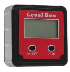 Transferidor de Precisão Digital Nível Inclinômetro caixa com visor LCD da base do magneto
