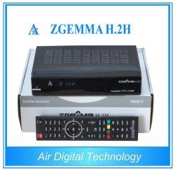 Récepteur satellite numérique DVB S2 + DVB T2 satellite & terrestre récepteur avec processeur double coeur Zgemma H. 2h