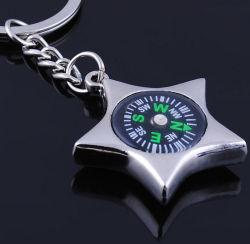 선전용 선물 5 날카로운 Starkey 사슬 나침의를 광고하는 금속 Keychain