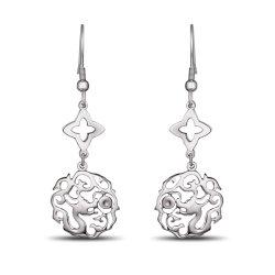 Mode bijoux calebasse Earring Logo personnalisé vide Earring