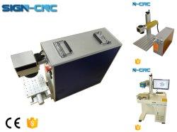 20W 30W 50W El equipo de marcado láser Grabado el logotipo de la máquina para el código QR marcadora láser de fibra/grabadora láser para Metal Teléfono móvil