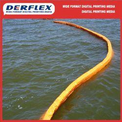 Commerce de gros bateau gonflable bâche en PVC pour les rampes de confinement de l'huile flottant