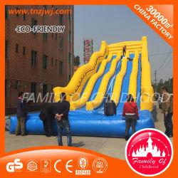 Jeux gonflables en PVC diapositive personnalisé pour la vente
