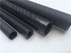 3k Twill Weave Painted Surface Carbon Fiber Palo
