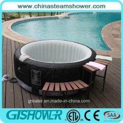 Bañera de hidromasaje Jacuzzi hinchable China (pH050010)