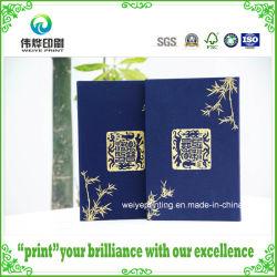 Offsetdruckbuch mit Luxus-Schuber für Kalligraphie