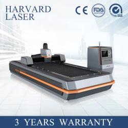 Ipg/Raycus Apparatuur van de Gravure van de Laser van het Metaal de Scherpe voor het Aluminium van de Koolstof van het Staal met Ce