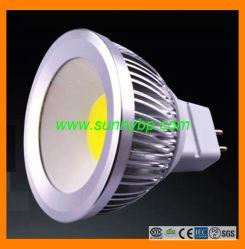 新しいモデルの極度の明るいGU10穂軸LEDのスポットライト