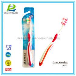 Soem-umweltfreundliche Nylonerwachsen-/Kind-/Kind-persönliche Sorgfalt-Arbeitsweg-Zahnbürste
