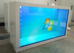 32 polegada 43polegadas 47polegadas 55polegadas LCD transparente de Digital Signage Publicidade Caixa Smart Media Player