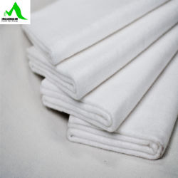 PP fibra corta Geotextile tejer con buena permeabilidad de Gas y Agua