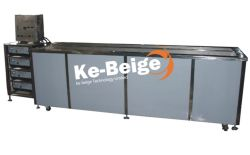 Máquina de limpieza ultrasónica de acero inoxidable para la limpieza de persianas venecianas