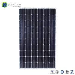 태양 에너지 시스템을%s 고능률 295W 단청 태양 모듈