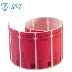 La résistance thermique à haute température nulle de l'impression Impression double face étiquette autocollant étanche