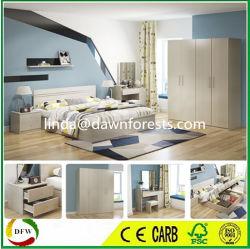 Chambre à coucher Mobilier ensembles, y compris lit/à côté de table/armoire