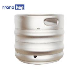 Populäres AISI 304 oder 316 Zylinder des Nahrungsmittelgrad-Edelstahl-Behälter-Trommel-Entwurfs-leerer Eurobier-Fass-30L