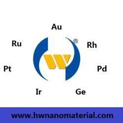Nano Poeder /Nanoparticle van het Edel metaal van 2030nm met 99.99%Purity Au/Gold, Ru/Ruthenium, Ge/Germanium, Pd/Palladium, Rh/Rhodium, PT/Platinum, IR/Iridium