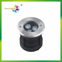 Resistente al agua subterránea enterrado de luz LED de luz enterrada para exteriores