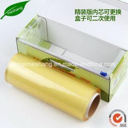 Cintagem de alimentos em PVC transparente Filme adesivo LLDPE película extensível