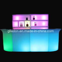 Rgb-LED verwendete Handelsmöbel halten entgegengesetzt für Pub-Verkauf ab