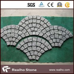 Ciottolo grigio del granito G603 per le mattonelle della pietra per lastricati
