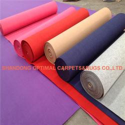Não tecidos exposições Plain-Surface /Hall/ Hotel/Expo Carpet