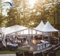 10m роскошь прозрачную крышку палатку в рамке для событий Свадебное