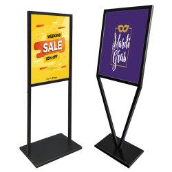 Los carteles, folletos Standee Menú titular, y póster de suministro de soporte de
