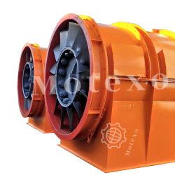 Ventilateur d'échappement pneumatique industriel pour les mines souterraines