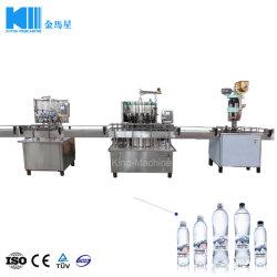 Linearer Kleinkapazitätstyp Haustier-Flaschen-Trinkwasser-Verpackmaschine