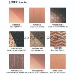 Faible coût couché couleur no 4 Indicateur de position de la plaque en acier inoxydable AISI 304