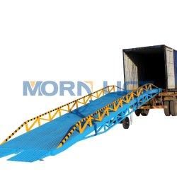 La Chine 15t 6t 8t 10t 12t chariot électrique/hydraulique manuel/réservoir mobile chariot élévateur à fourche de chargement/niveleur de quai de chargement Rampe de triage de la plate-forme