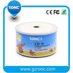 Estilo de capa única Ronc 52X Velocidad de grabación de CD en blanco de 700MB