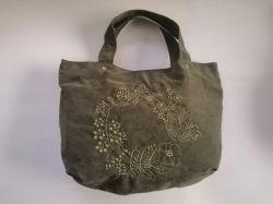 2020 год новых Emboridary цветочного дизайна моды сумку с хлопчатобумажной ткани используются для леди магазинов