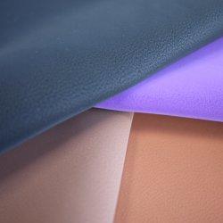 Волокнистой глухой польский PU искусственная кожа для мебели оптовые диван кожаная обивка