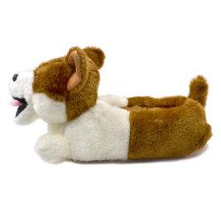 De klassieke Dierlijke Pantoffels van de Hond van de Pluche van de Pantoffels van Corgi van de Pluche