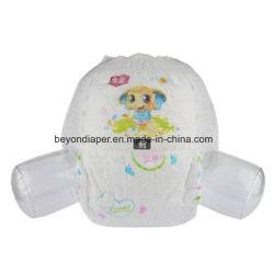 OEMの実行中の赤ん坊のための使い捨て可能な綿のおむつの赤ん坊のトレーニングのズボン