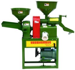소형 라이스 밀링 기계인 라이스 폴리셔(Polisher Rice Huller)를 결합하십시오