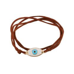 الجملة الأعلى تصميم المرأة أزياء أزياء قلادات مجوهرات إكسسوارات Retro الشر من العين قلادة عقد