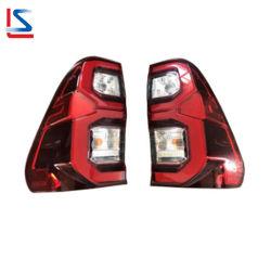 مصباح LED Auto Tail Light Back Lamp for Pickup Hilux Vigo مصباح المؤخرة Revo 2021 81560-0K430 81550-0K430 المصابيح الأوتوماتيكية