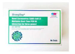 Cov-2 PCR Kit de prueba de detección del virus de ácidos nucleicos Kit de prueba de diagnóstico de la prueba de PCR tiempo real Ce la aprobación del FDA