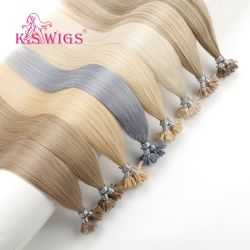 L'estensione naturale dei capelli umani U-Capovolge i capelli dell'indiano dei capelli della cheratina