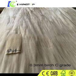 Legno duro del compensato 3mm dell'impiallacciatura della betulla