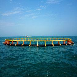 Strumentazione di galleggiamento di azienda agricola di tilapia della gabbia