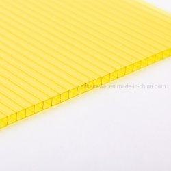 Haute résistance feuille Sun 6mm 8mm 10mm en polycarbonate creux de la matière vierge