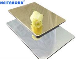 PVDF Aluminiumzusammengesetztes Plastikpanel mit importierter Spiegelfläche