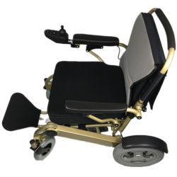 Sin escobillas Greenpedel Silla de ruedas eléctrica con controlador Joytick